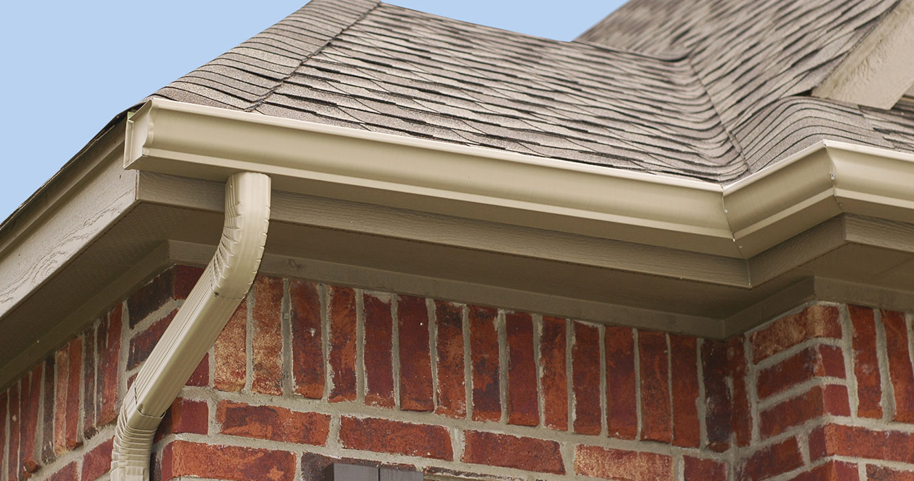 New Gutters With Gutter Protection